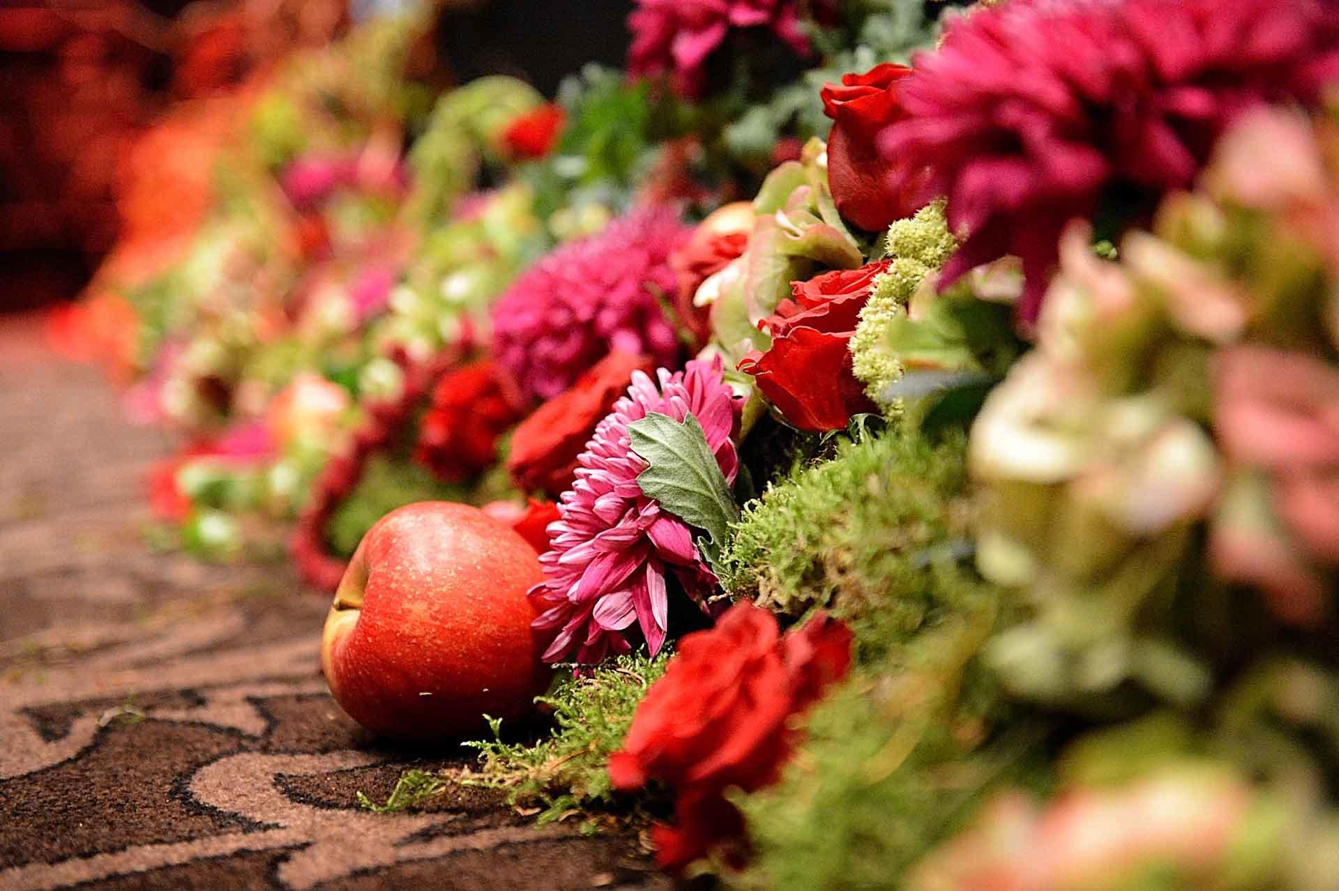 Une décoration originale avec des fruits