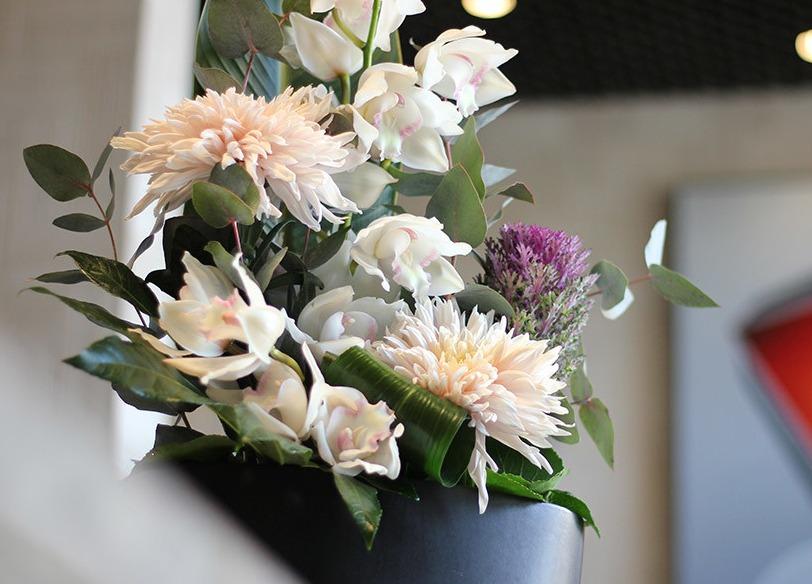 photo d'un bouquet dans le cadre d'un abonnement floral pour Monaco