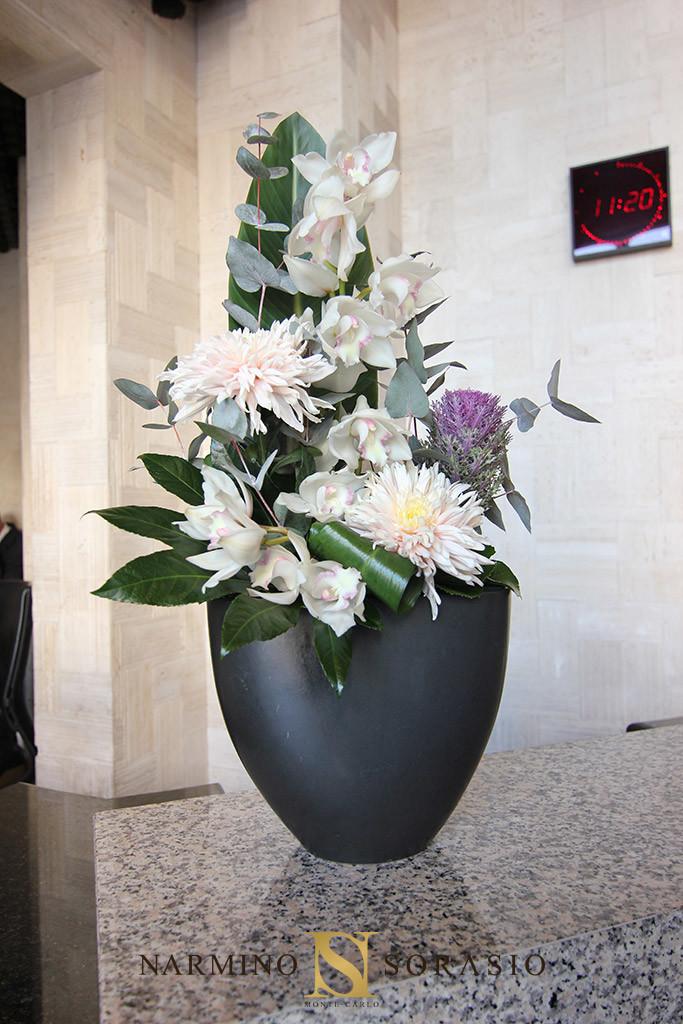 photo d'un bouquet dans le cadre d'un abonnement floral