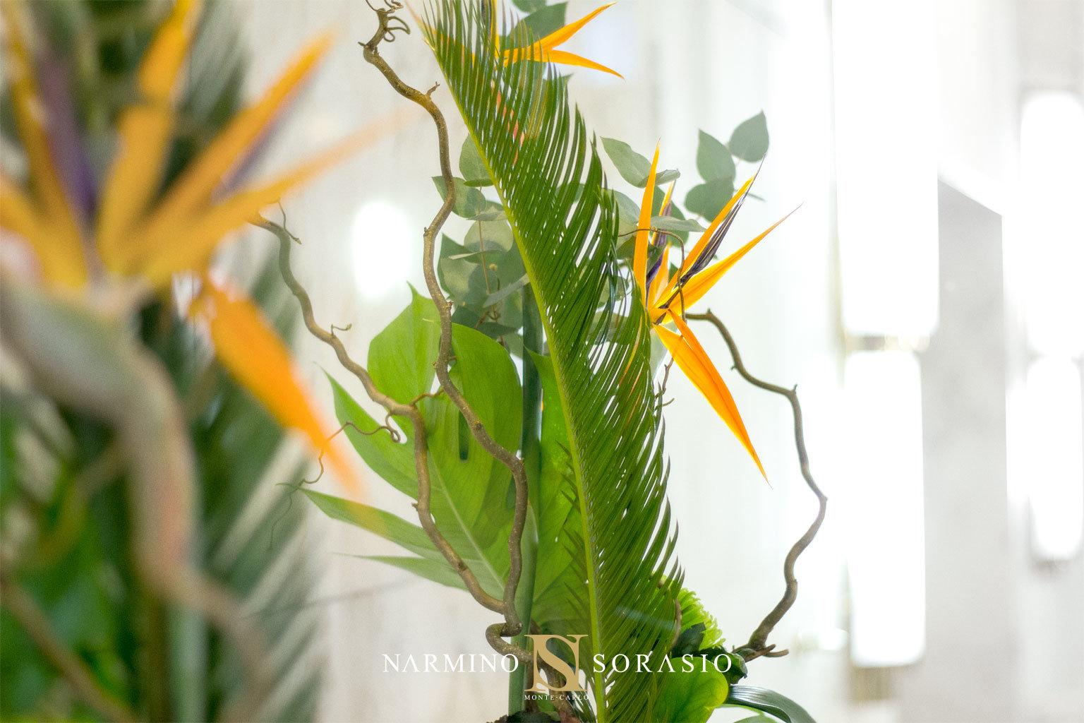 photo d'une réalisation dans le cadre d'un abonnement floral