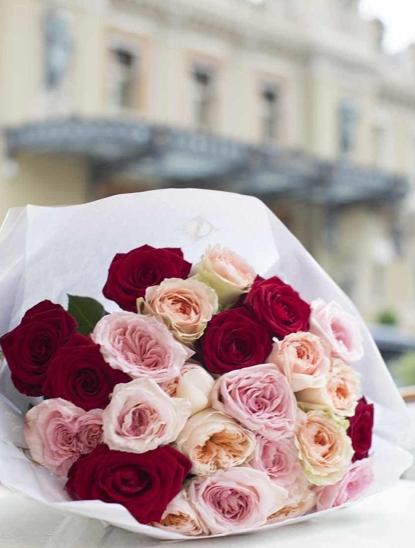 Un bouquet de fleurs Narmino