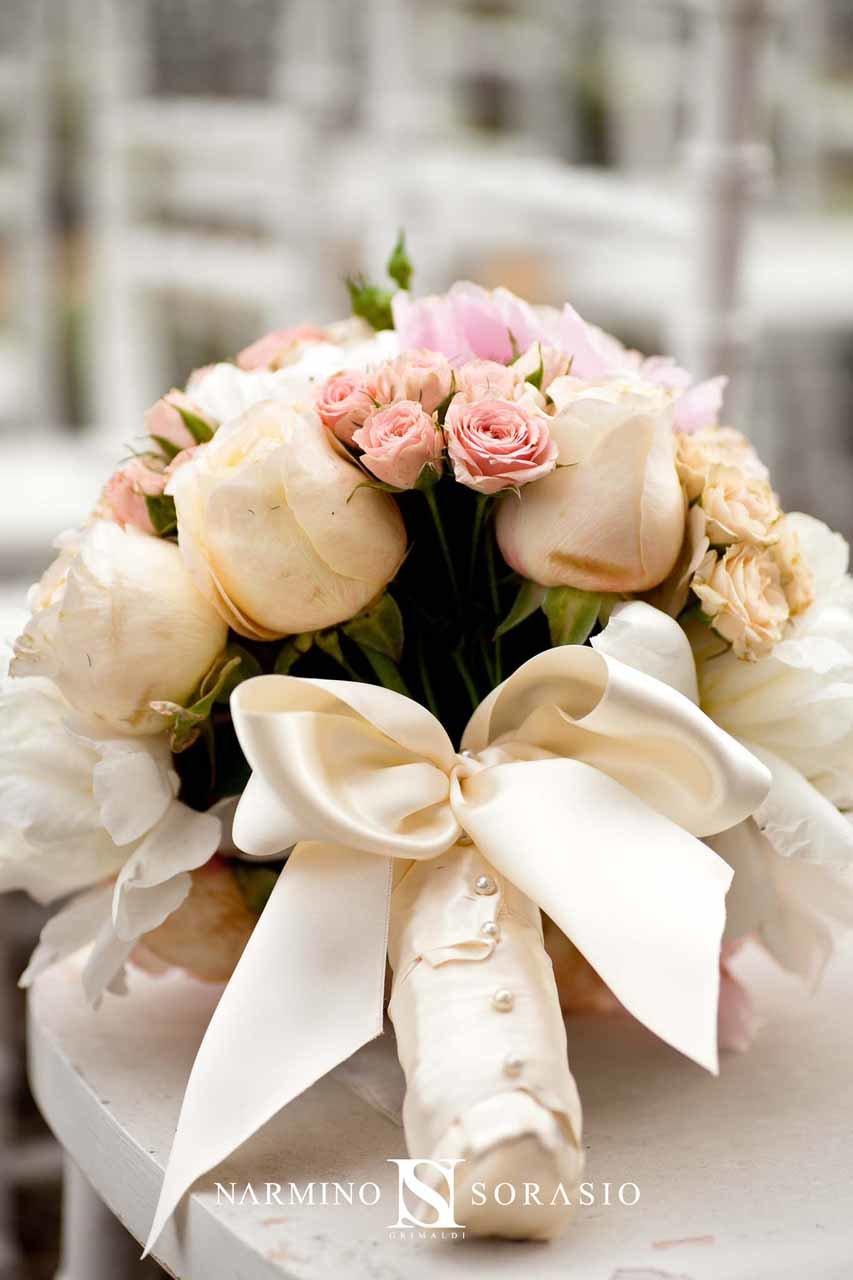 Un délicat bouquet de mariée
