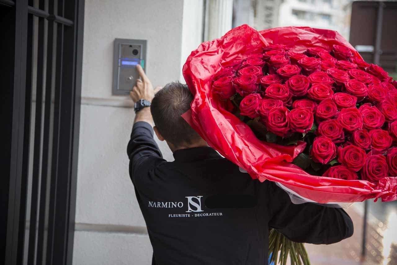 Nous livrons gratuitement nos fleurs sur Monaco