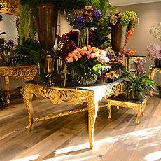 Intérieur boutique fleuriste boulevard Princesse Charlotte