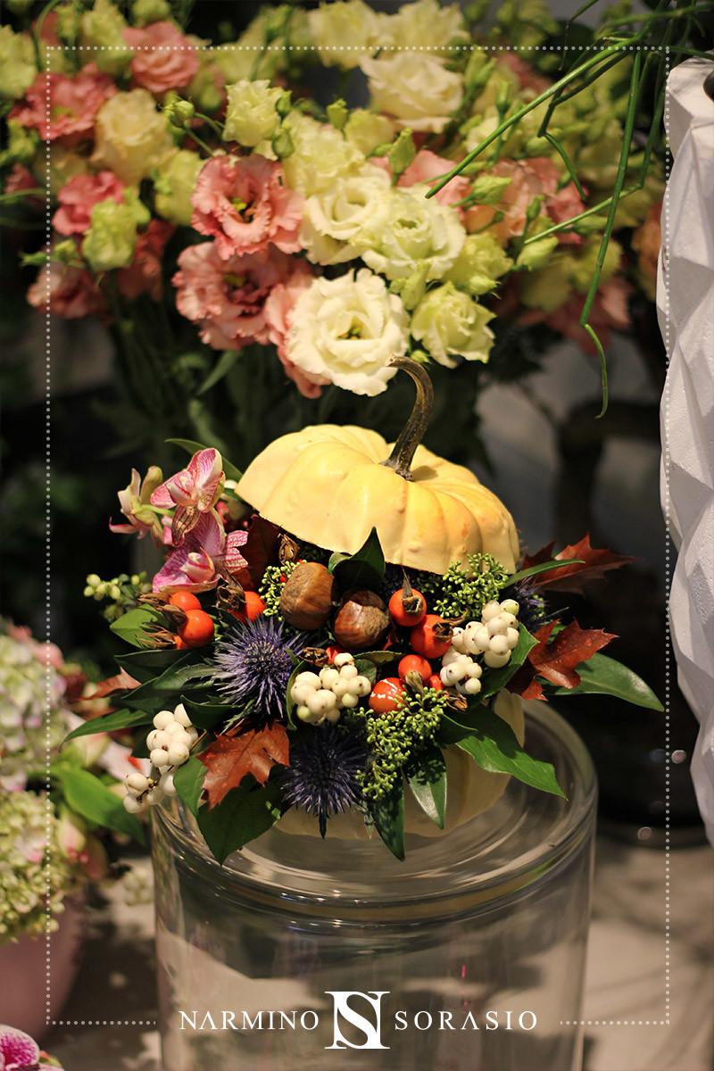 Décoration florale pour Halloween