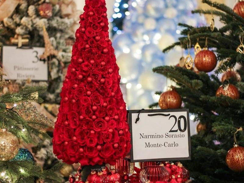 Our Christmas Tree for Action Innocence Monaco