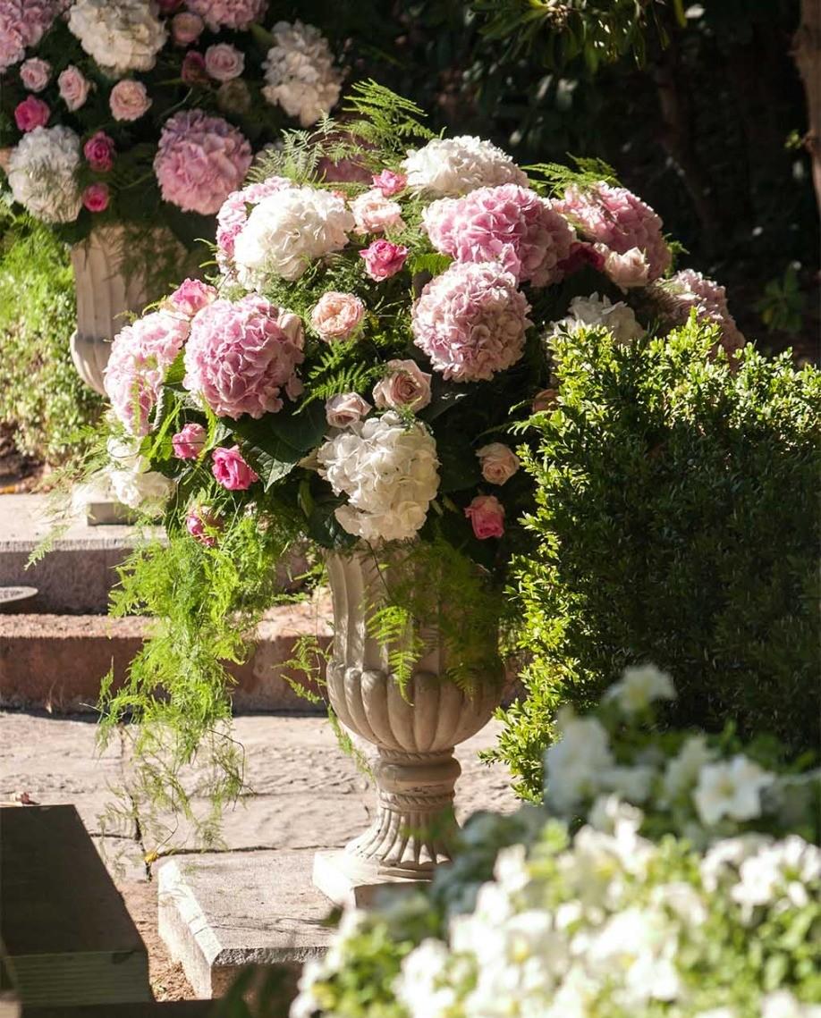 Un mariage fleuri à Saint-Jean-Cap-Ferrat