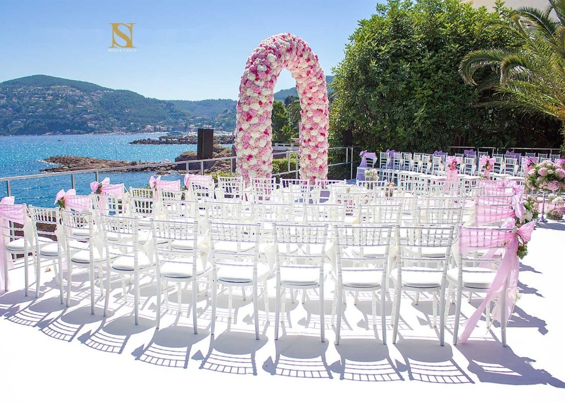 Nous fleurissons les mariages sur la Côte d'Azur et à Monaco