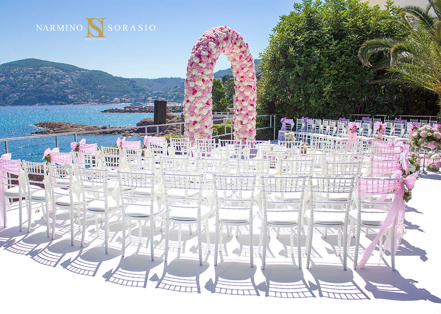 We are flowering weddings on the Côte d'Azur and in Monaco