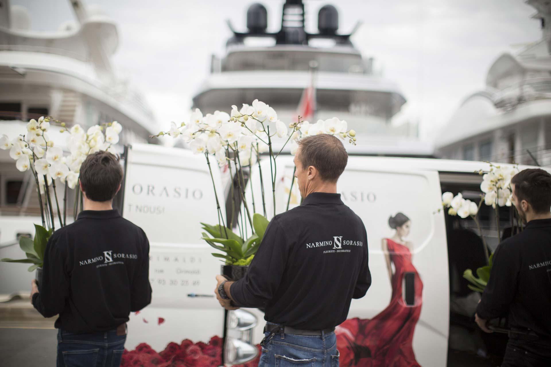 Livraison de fleurs à Monaco