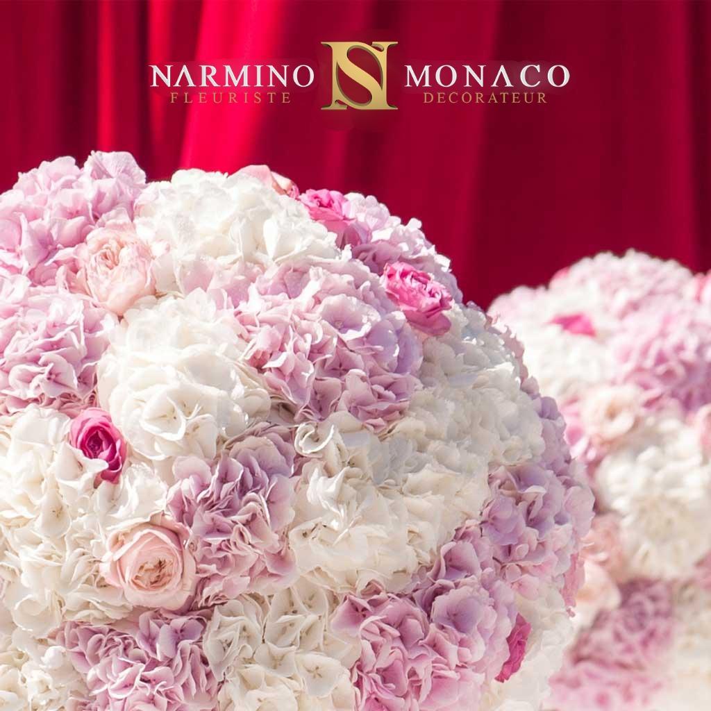Narmino, decorator florist in Monaco, floral decoration for your wedding