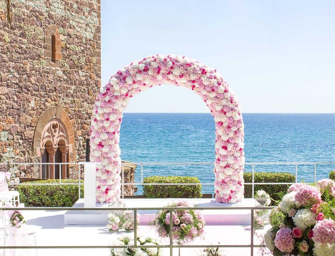 Maison Narmino, fleuriste décorateur à Monaco, décoration florale de votre mariage sur la Côte d'Azur