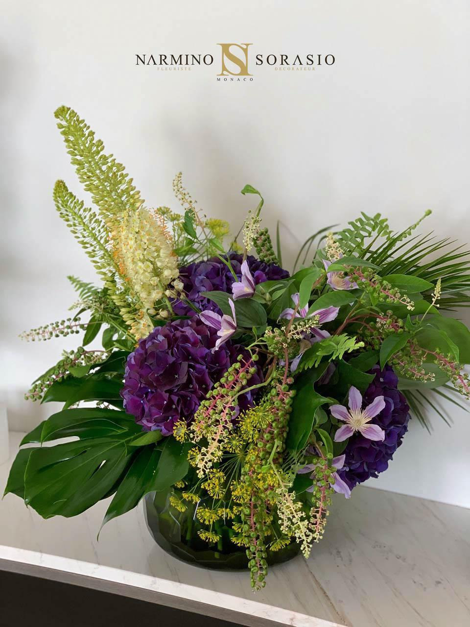Un magnifique bouquet très distingué