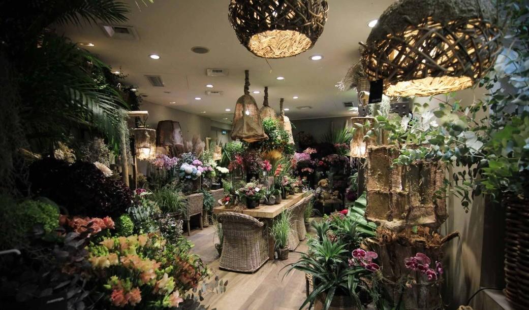 Une vue d'ensemble de la nouvelle déco à notre boutique Narmino Monaco