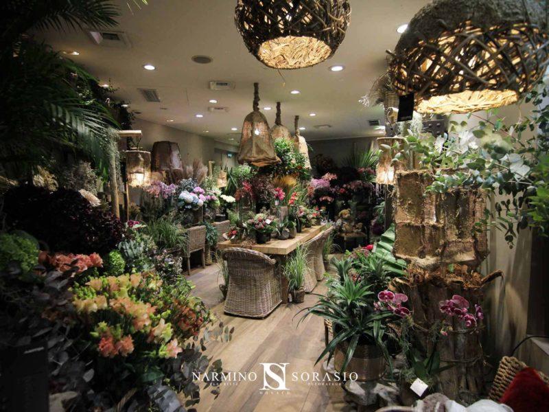 Une vue d'ensemble de la nouvelle déco à notre boutique Narmino Sorasio