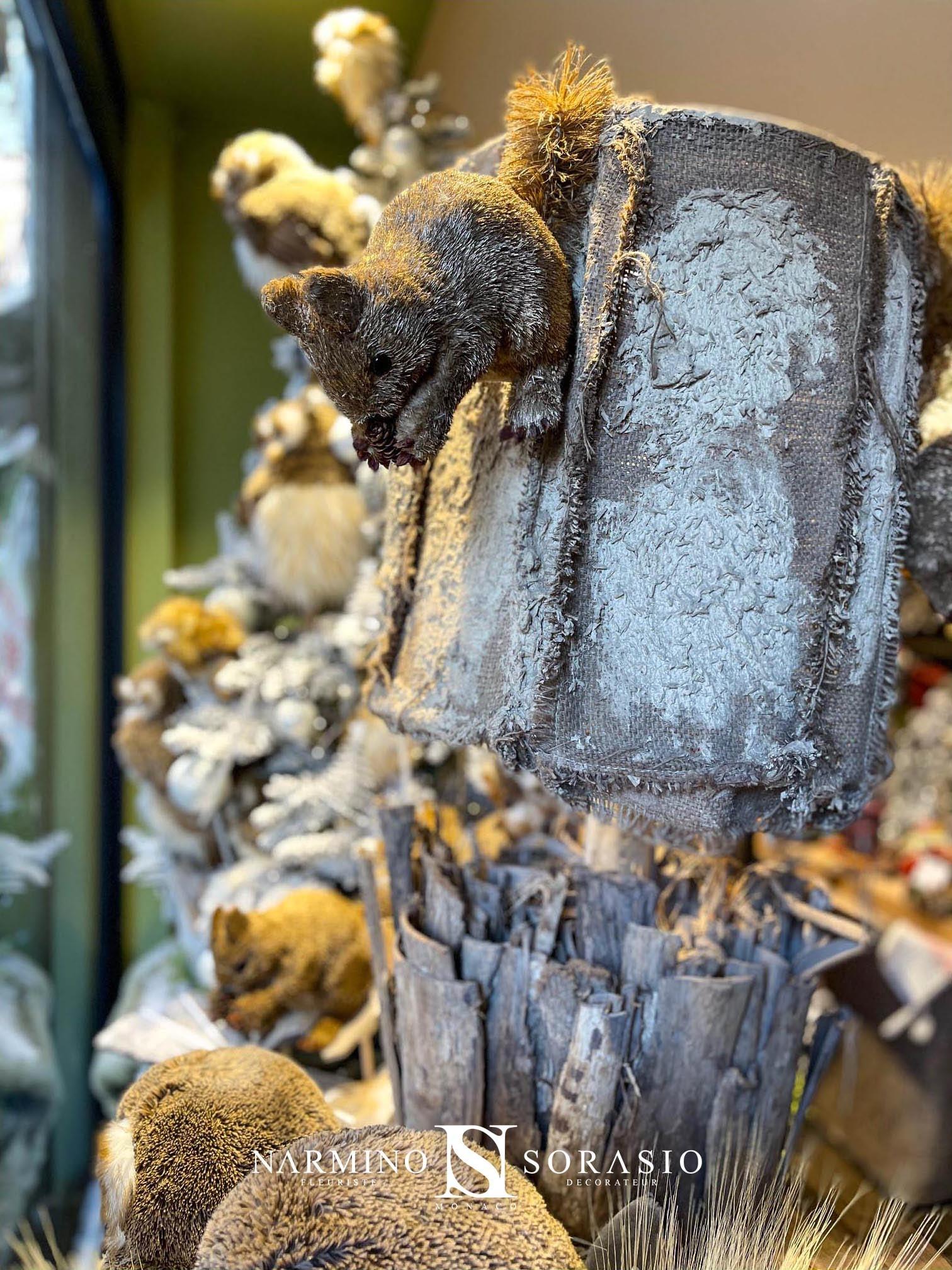Ambiance de Noël à la boutique Monte-Carlo