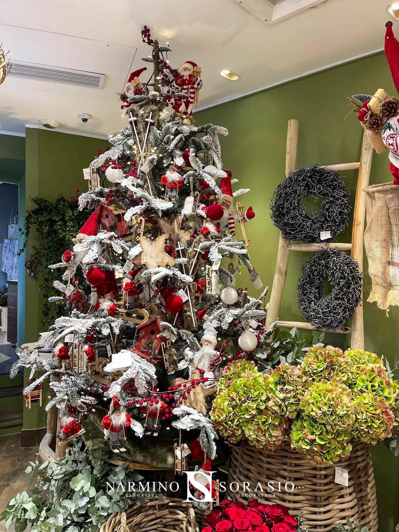 Un sapin de Noël Narmino Sorasio