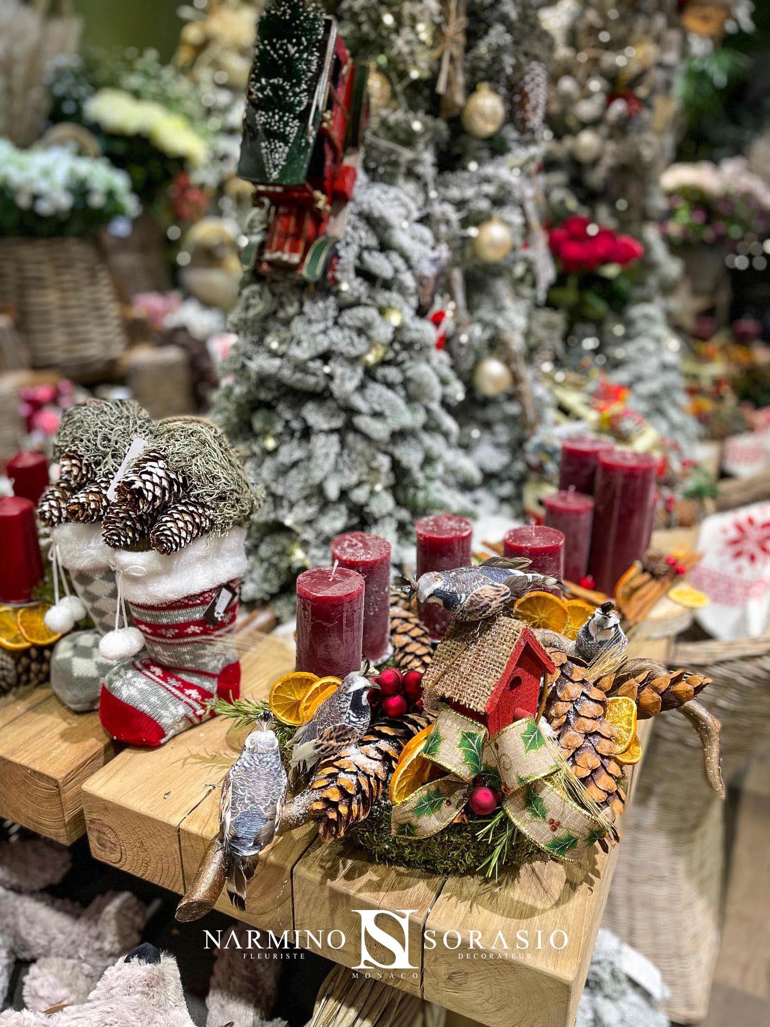 De belles décorations de Noël