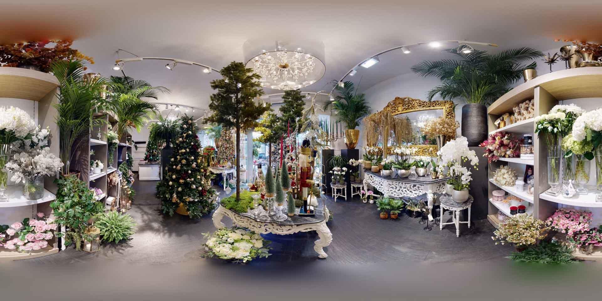 L'intérieur de la boutique Grimaldi