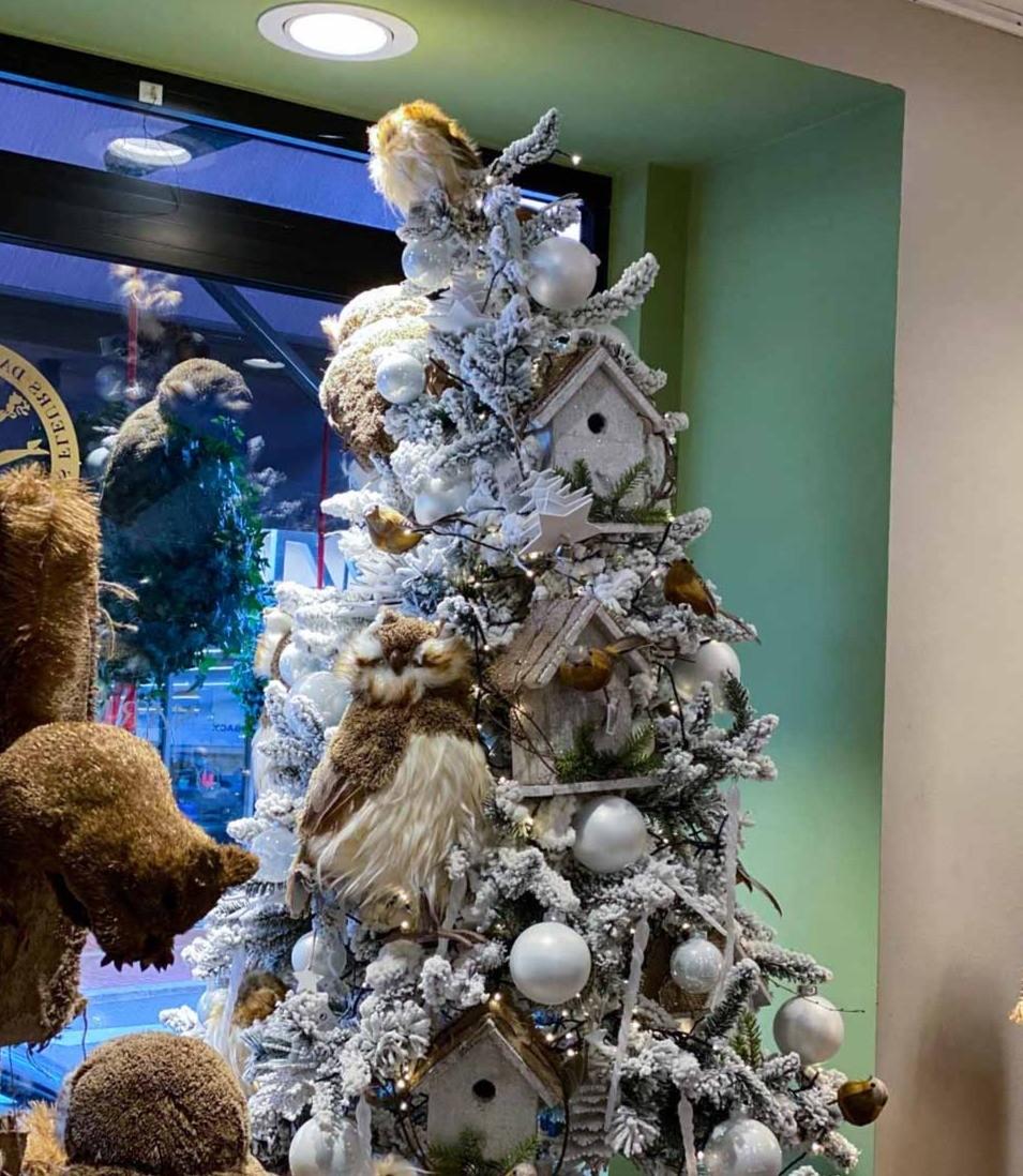 Le sapin de Noël modèle Chouette