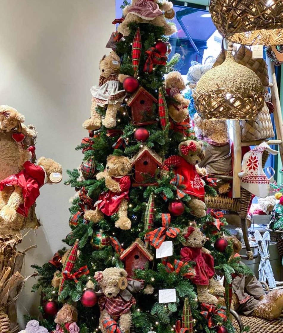 Le sapin de Noël modèle Cortina d'Ampezzo