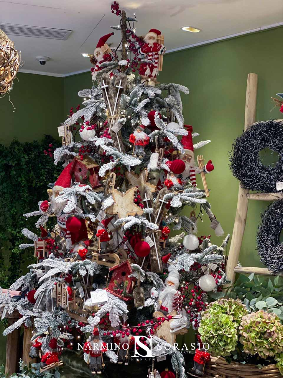 Le sapin de Noël modèle Courchevel