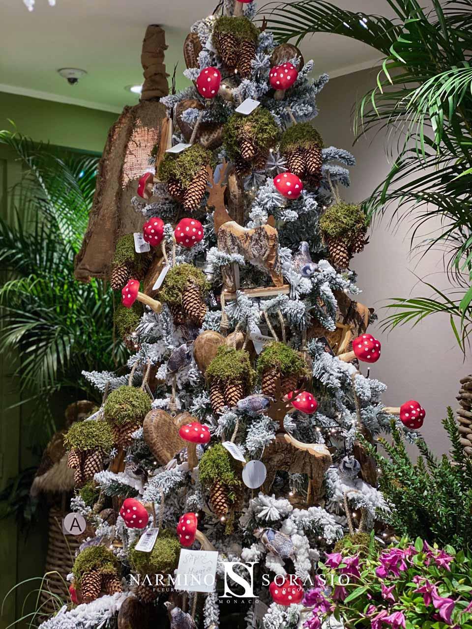 Le sapin de Noël modèle Megève