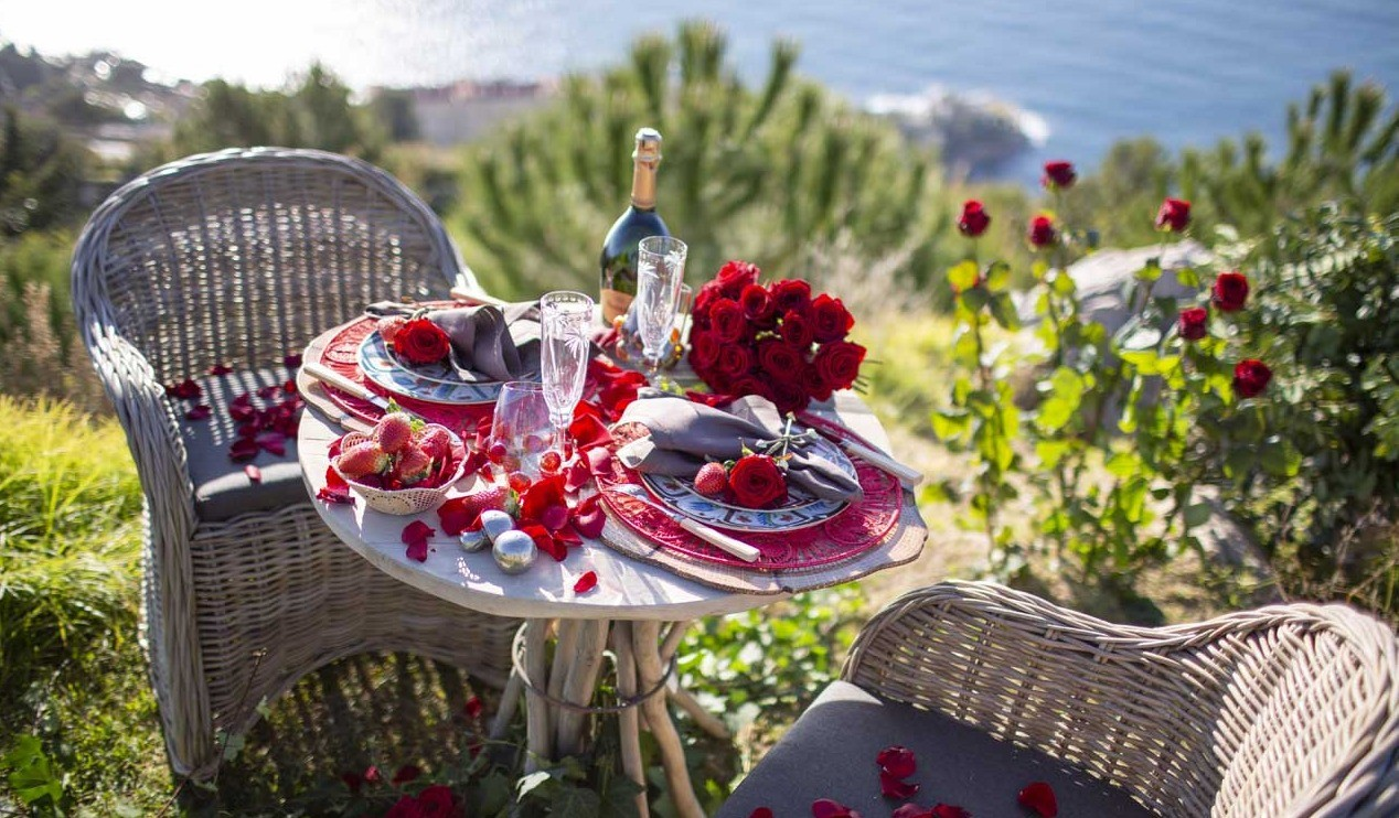 La Saint-Valentin à Monaco avec Narmino Fleurs