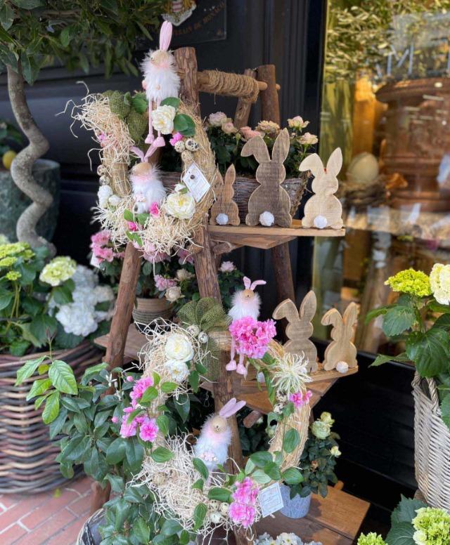 Esprit champêtres et décoration bois