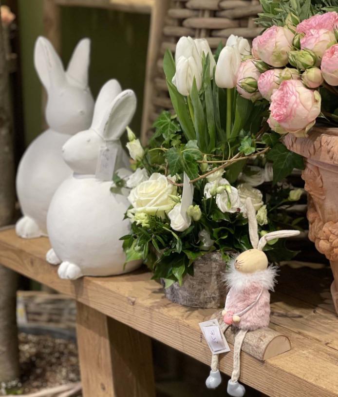 Tulipes des décorations de Pâques