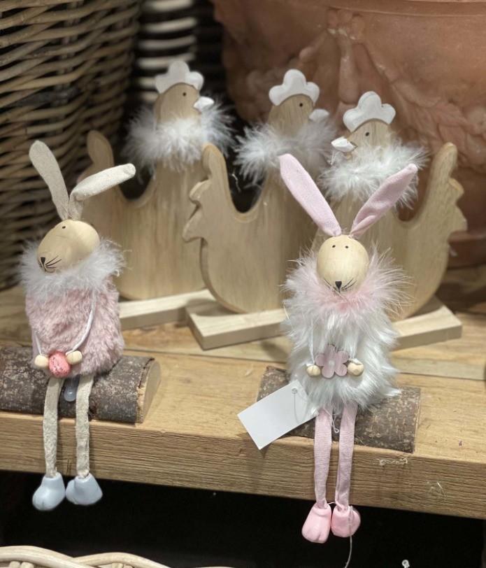 De petits lapins de Pâques