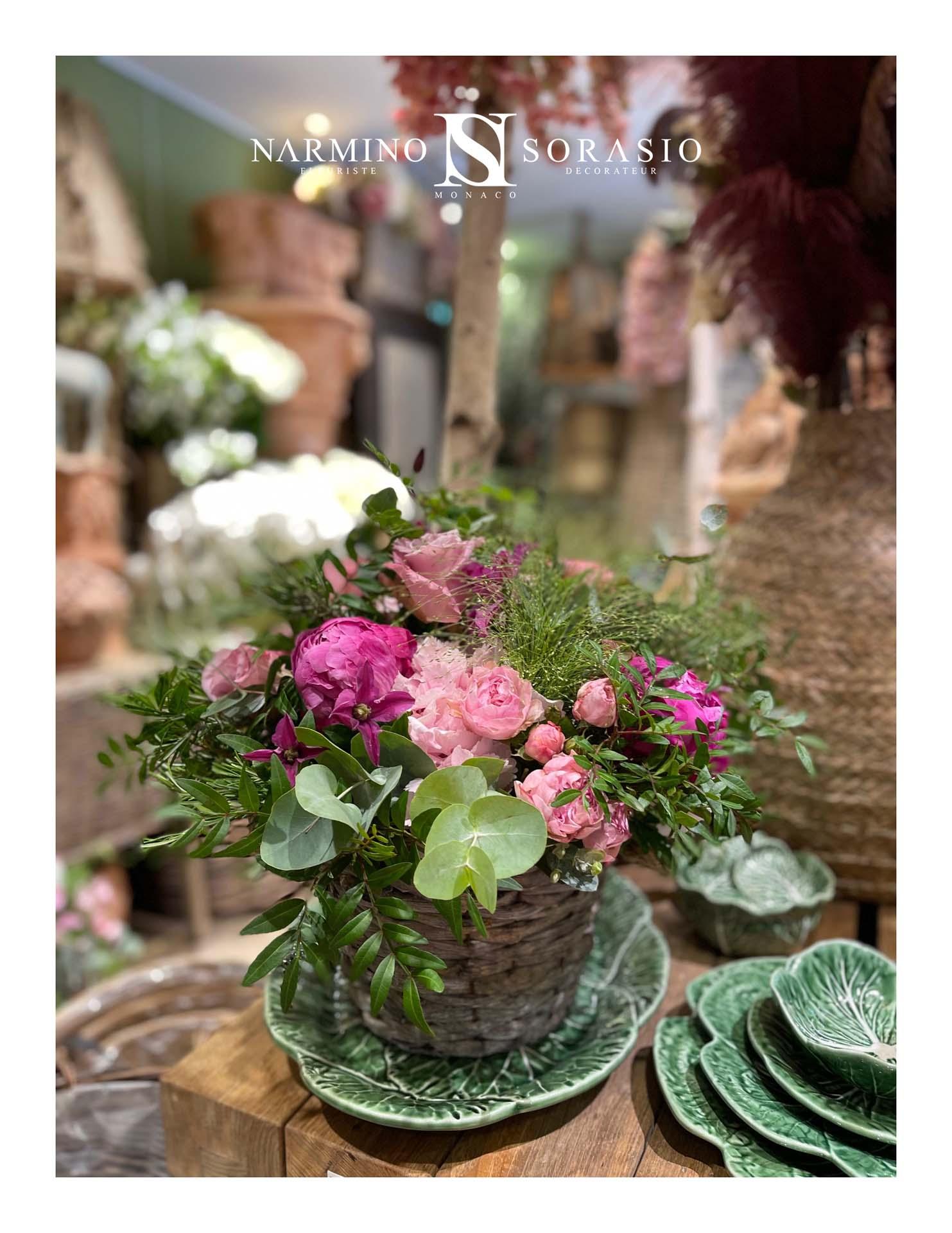 Un bouquet réalisé par votre fleuriste préféré à Monaco