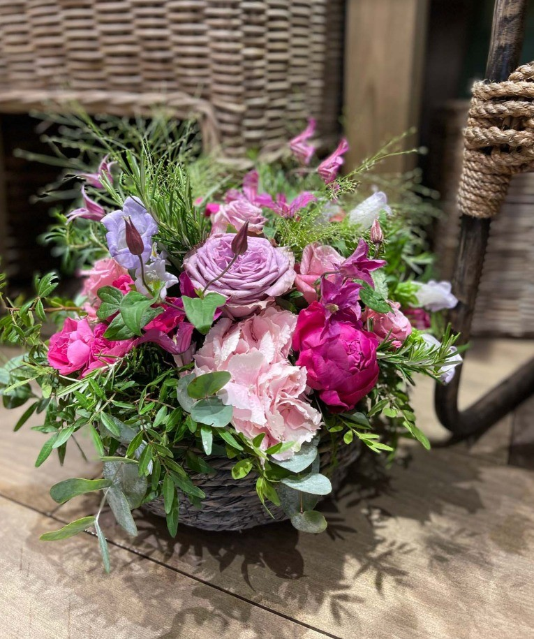 Une belle composition florale