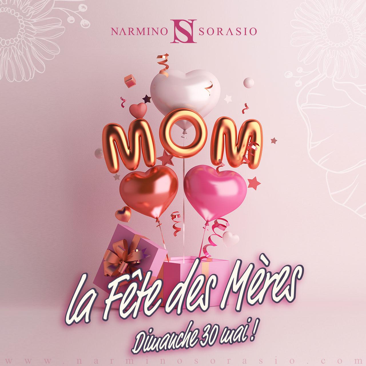 Mother's Day at Narmino Sorasio's in Monaco