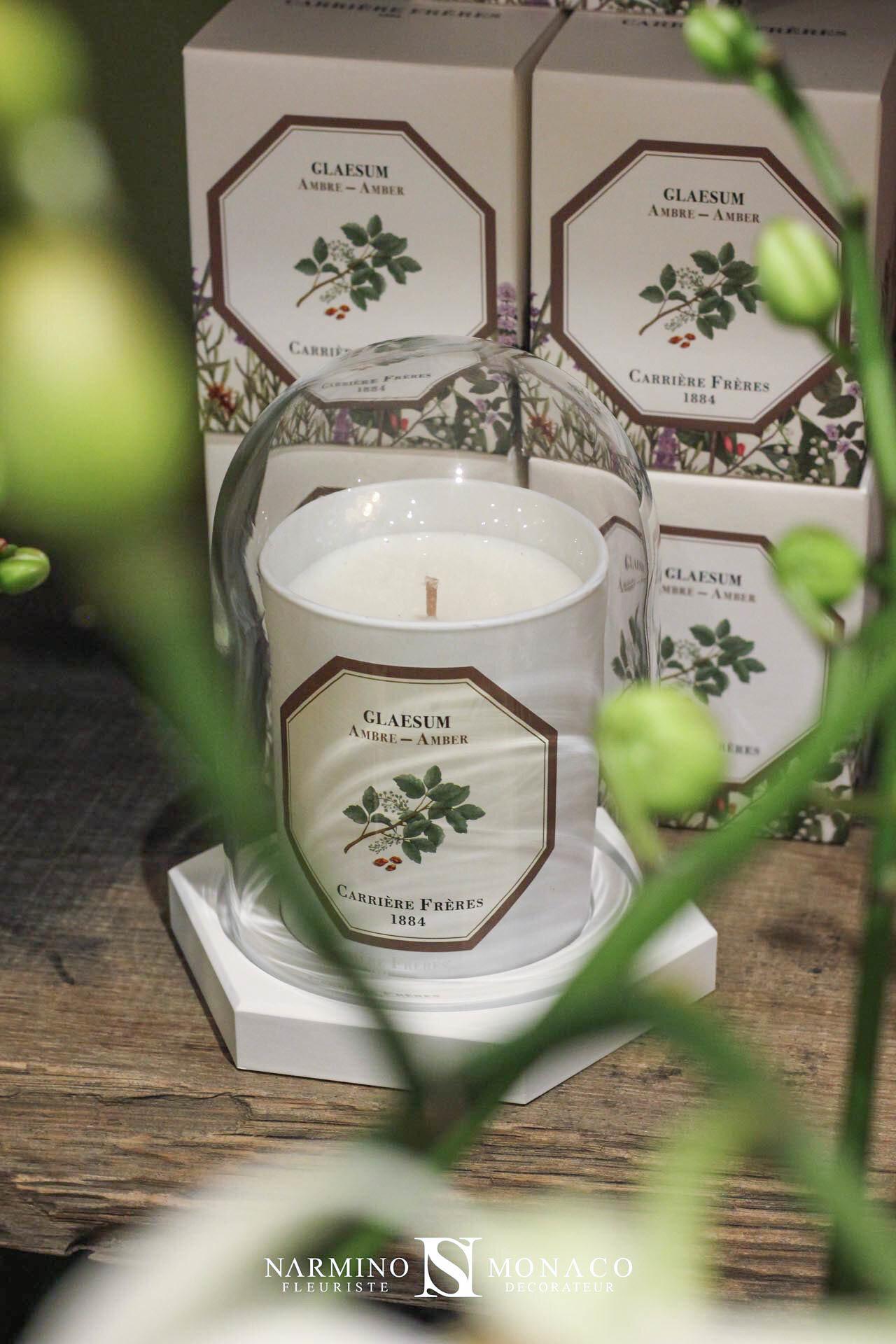Des bougies parfumées Carrière Frères